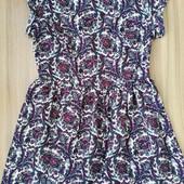 брендова сукня в квітковий принт