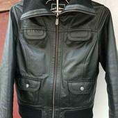 Шикарная кожанная курточка