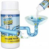 Засіб для чищення труб і раковин - потужний очищувач мийки і зливу Wild Tornado Sink Drain Cleaner