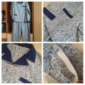 новая пижама Livergy р. L (56) 66%полиэстр+35%коттон (сток на дефекты проверено)