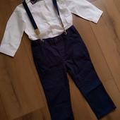 Нарядный костюм h&m для мальчика 1,5-2 года