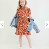 Легкое летнее платье Reserved для девочки 4-5 лет