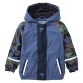 Нова термо куртка дощовик на флісі Lupilu, р.98/104. Дождевик грязепруф