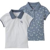 Lupilu 2 футболка/поло для девочек 86-92 большемерит