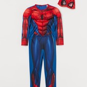 Костюм супергероя H&M 2-4 года