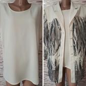 Нарядний літній піджак+блузка.Розмір 4xl-5xl.