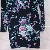 стильное яркое качественное платье,новое с биркой рр 12