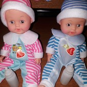 """Кукла """"Пупс с бутылочкой """"оснащен звуковым модулем- """"плачет"""" и говорит """"мама"""",""""папа""""!"""