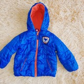 Деми курточка на мальчика 1-2 года