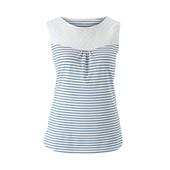 ☘ М'яка блуза з вишивкою, Tchibo (Німеччина), рр. наші: 54-56 (48/50 євро)