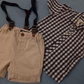 комплект шорты + рубашка