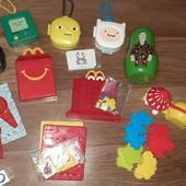 Лот игрушек Макдоналдс