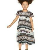 lupilu.классное  лёгкое хлопковое платье коллекция Хайди Клум 110