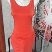 Платья- Майка удленоная с красивой оголеной спинкой размер 46-48