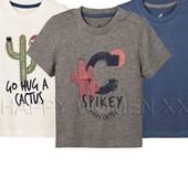 lupilu.комплект из трёх хлопковых футболок 86/92