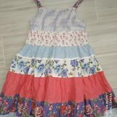 Next Красивое летнее платье на девочку 2-6лет замеры на фото