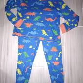 Пижама хлопок 6-7лет замеры на фото