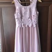 Шикарное платье! Нарядное! Идеальное состояние! Бонприкс!