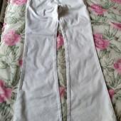 Итальянские брюки, белый котон.