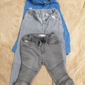 Трое брюк для мальчика тм Panco, Zara, H&M в идеальном состоянии, одним лото!