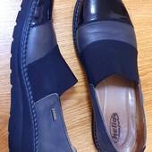 Кожаные туфли Helios Польша. 39 р. Стелька 25,5 см. Новое состояние