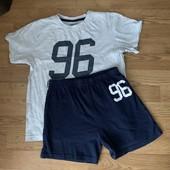 Костюм комплект : шорты и футболка на 8-11 лет для спорта !