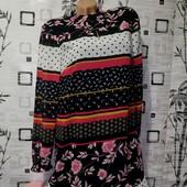 ❤️Новое, эксклюзивное платье из дорогого плотного шифона на подкладке с кармашками ❤️