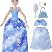 Попелюшка з прихованими аксесуарами Disney princess style surprise Cinderella Золушка оригинал Хасбр