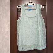 Всё по 100! Фирменная красивая блуза в отличном состоянии р.16-18