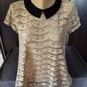 Шикарная блузка, футболка от размер 12.