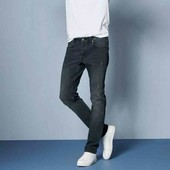 livergy.стильные джинсы slim fit с потертостями  размер 50замеры.(хлопок)