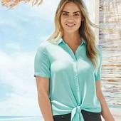 esmara.стильная вискозная блуза евро 38+6