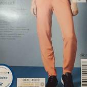 esmara.яркие трикотажные джогеры в винтажном стиле S36/38+6