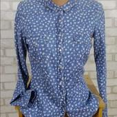Рубашка под джинс Bershka на кнопках