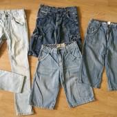 Джинсы и шорты на мальчика для дома для двора на 10-11 лет