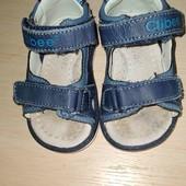 кожаные детские босоножки,  сандалии размер 20 стельки 12 см