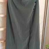 Юбка женская миди, размер 56.