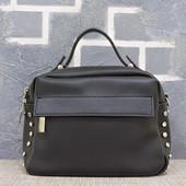 """Женская сумка """"Dots"""" черная"""
