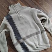 Теплый свитер для крупного мальчика(без нюансов)