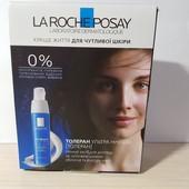 Интенсивно успокаивающий ночной крем для лица и глаз La roche-posay, 2 мл