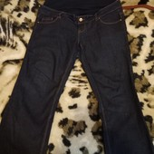 Джинсы для беременных, Bootcut, размер EU 40, UK 12, в подарок шорты для беременных
