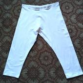 Белые бриджи стрейч H&M, размер-L, отличное состояние.
