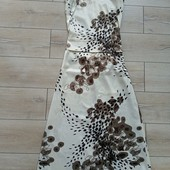 Довге атласне плаття