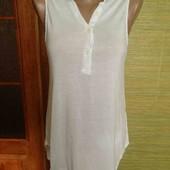 H&m легкая удлененая блузочка S размер