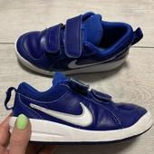 Кожаные кроссовки Nike оригинал 27,5 размер стелька 17,5 см .