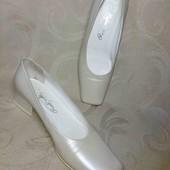 ОбНоВоЧкИ! 27 см. жемчужные туфли на торжество