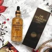 Антивозрастная Сыворотка 24K Gold Ampoule Goldzan с пептидами и экстрактом золота!!!