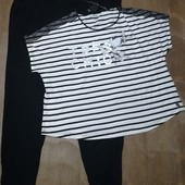 Большой размер! Женская пижама для дома и сна esmara размер 3XL 56/58)