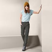 Функциональные прочные треккинговые брюки DryActive Plus от Tchibo (германия) размер 38 евро=44