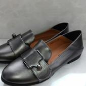 Удобные женские туфельки 39р=25.5см. Отличное качество.